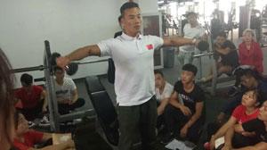 星航道李雁雷老师主讲健身器械使用方法