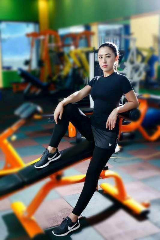 健身教练王红