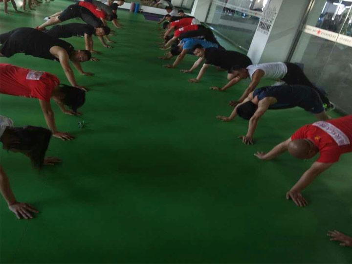 星航道1709期健身教练培训