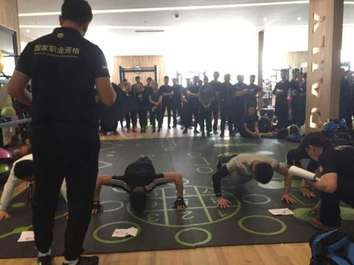 健身教练体能测试